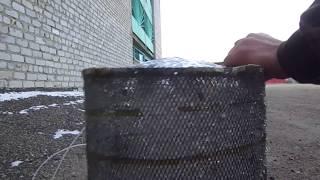 Корчага для ловли рыбы из фильтра