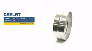 Stainless Steel Duct Connector – Diameter 10.8