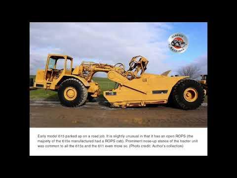 Classic Machines: Caterpillar's 615 scraper