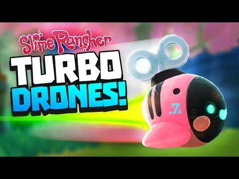 SUPER FAST DRONES WITH MULTI MOD - Slime Rancher Drone