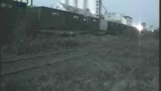 preview picture of video 'Tren de contenedores de ALL entrando a Laboulaye'