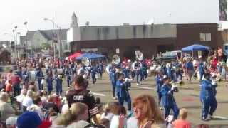 Westbury High School Band, Houston Texas, at the 2014 Canton Football Hall of Fame Parade