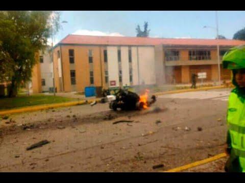 Atentado en Bogotá deja al menos ocho muertos por explosión en escuela de cadetes