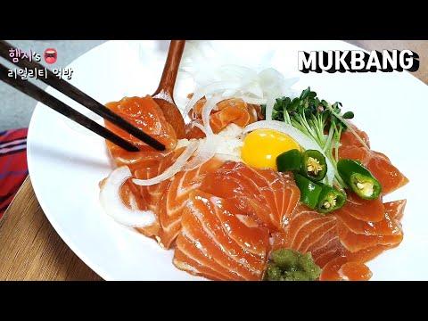來碗營養滿分的鮭魚飯