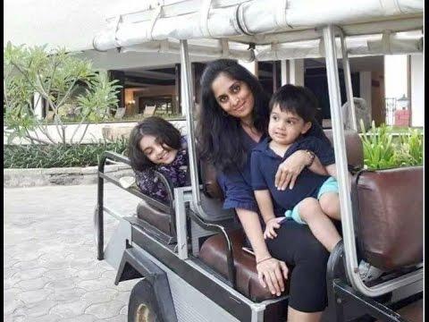 Shalini Ajith Daughter Anoushka and son Aadvik Very Cute video - Ajith Shalini