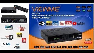 Viewme HD mpeg4 Free to air Satellite Receiver digitel Dvb s2 Set top Box unboxing