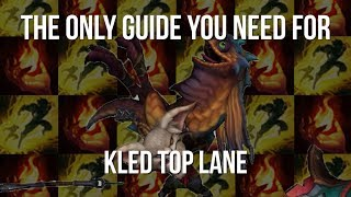 The Only Guide You Need For Kled Top Lane