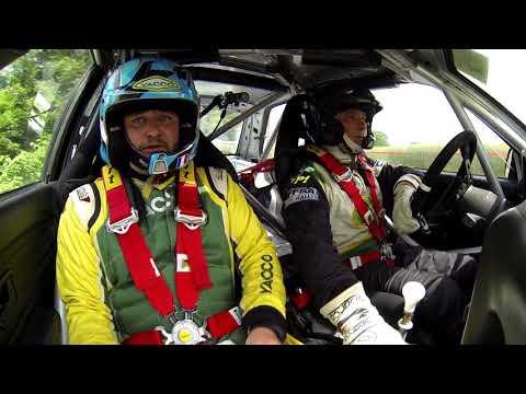 Rallye des Bornes La Roche-sur-Foron VHC, avec l'équipage aux couleurs Yacco Michel Ducreux et Anthony Raoult (BMW M3)