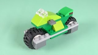 LEGO Racing Motorcycle Building Instructions - LEGO Classic 10715 How To
