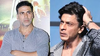 Akshay Kumar breaks his silence on CLASH with Shah Rukh Khan