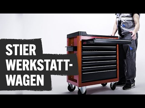 STIER Werkstattwagen   Contorion Profi TV