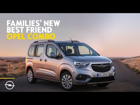 Families' New Best Friend | Discover the all-new Opel Combo