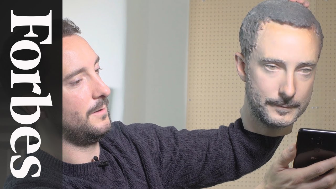 We 3D Printed Our Heads To Bypass Facial Recognition Security And It Worked