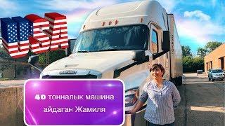 Америкада трак айдаган кыргыз кыз 🇰🇬🇺🇸 Эксклюзив!!! Американын жолдору, окуялар.