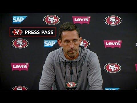 Kyle Shanahan Shares 49ers Injury Updates after Week 7 e9cc72d3f