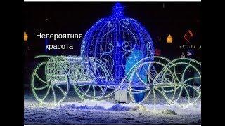 VLOG /Пришли посмотреть на площадь)Новогодняя елка горит !новогодняя елка на площади