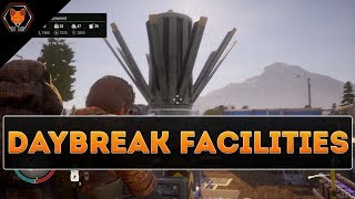 All Daybreak Facilities + Mods Showcase || State of Decay 2 Daybreak