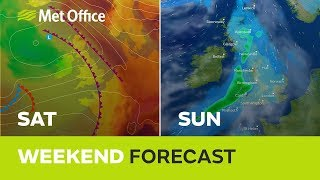 Weekend weather – A fresher weekend with rain for many 26/07/18