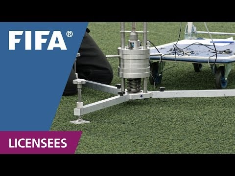 FIFA certified football turf -- testing procedure