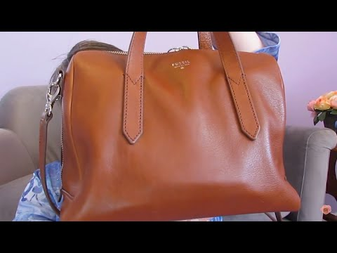 What's in my purse??  New Fossil Sydney Satchel!!