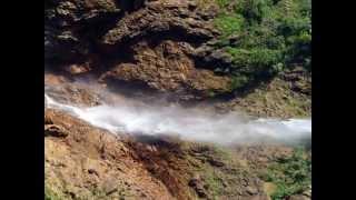 preview picture of video 'Nohkalikai Falls , Cherrapunji , Meghalaya , India'