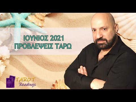 Ιούνιος 2021 Μηνιαίες Προβλέψεις ΤΑΡΩ από τον Κωνσταντίνο Καρμίρη