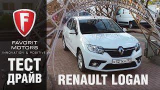 Тест-драйв нового Renault Logan 2018: Обзор Рено Логан рестайлинг