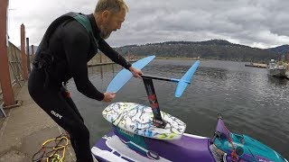 Foil VLOG: Hydrofoil Tow session at the Hatchery