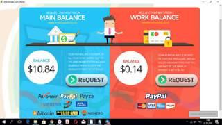 NEW earnmoney зарабатываем от 2$ в день, на своем компе!