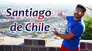 CHILE ME SORPRENDIÓ   ¿Qué Hacer En Santiago De Chile?   Viaja Con Yoel 4K