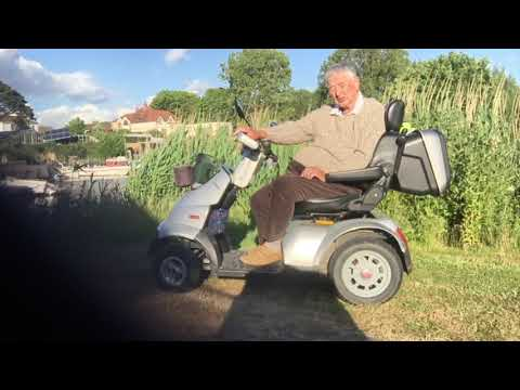 TGA Breeze S4 mobility scooter - customer recommendation (Stan Robinson) v2 YouTube video thumbnail