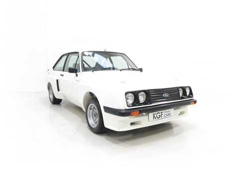 A Tremendous Mk2 Ford Escort RS2000 X Series In Stunning Condition - SOLD!