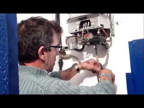 como repara un calentador de gas butano