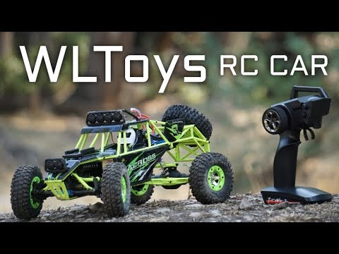 WLtoys RC Car 12428 Hobby Fast Race Cars 4WD - Storm Off-Road Review