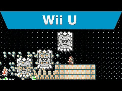 Видео № 0 из игры Super Mario Maker - Limited Edition [Wii U]