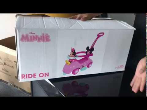 Carro Bugui correpasillos Minnie y Mickey Mouse Original modelo 2018