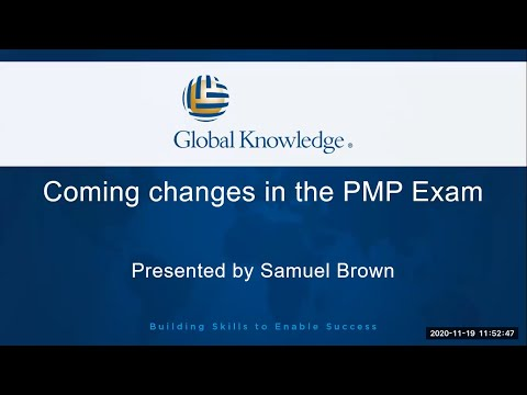 How The PMP Exam is Changing in 2021 | PMP Certification ...