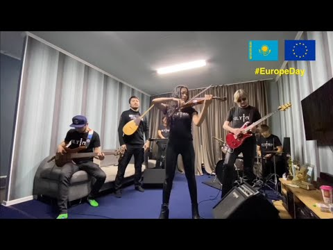 Happy Europe Day from Kazakh folk rock band Ulytau!