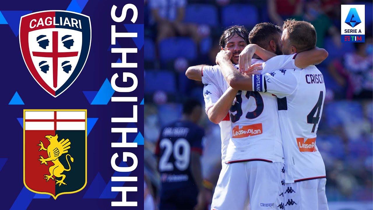 Cagliari 2-3 Genoa | Fares completa la rimonta vittoriosa del Genoa| Serie A TIM 2021/22