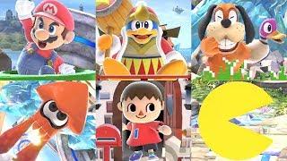 Super Smash Bros Ultimate - All Character Entrances