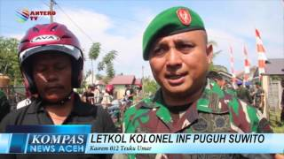 TNI BAGI HELM  KOMPAS NEWS ACEH 29/03/2016