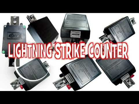 Lightning Warning Counter with SMS Facility