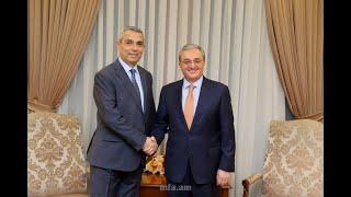 Встреча глав внешнеполитических ведомств  Армении и Арцаха