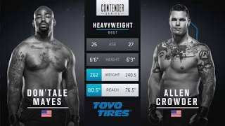 FREE FIGHT | Crowder Drops Vicious Elbows | DWTNCS Week 8 Contract Winner - Season 1