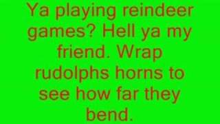 Funny Christmas Song by eminem LYRICS!!