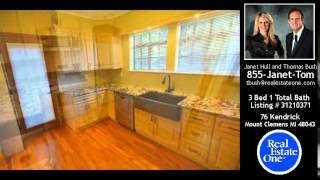 preview picture of video '76 Kendrick, Mount Clemens, MI - $169,900'