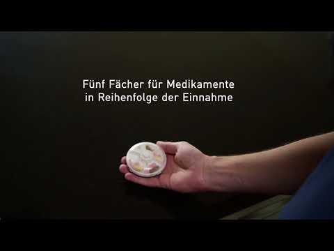 Fysic FC-55 pillendose mit alarm
