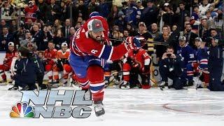 NHL All-Star Skills Competition 2020: Hardest Shot (106.5 mph winner) | NBC Sports