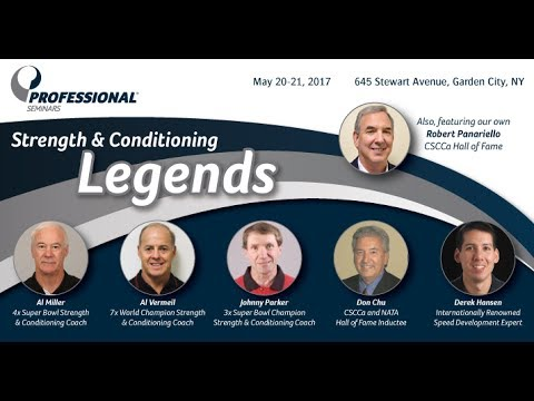 Athletic Performance Summit: The Legends Course - Welcome and Introduction