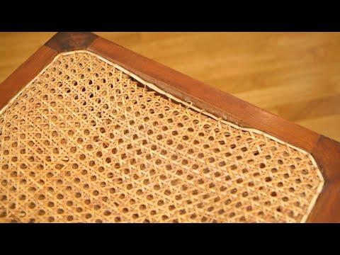 Restauración asiento de rejilla - Bricomanía